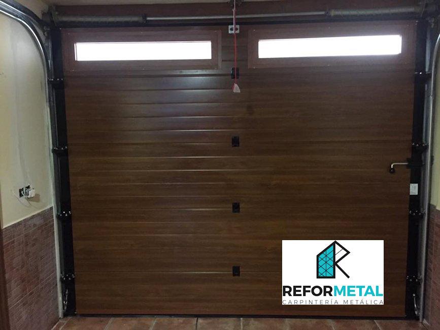 Puertas y ventanas de aluminio imitación madera – Carpinteria ...