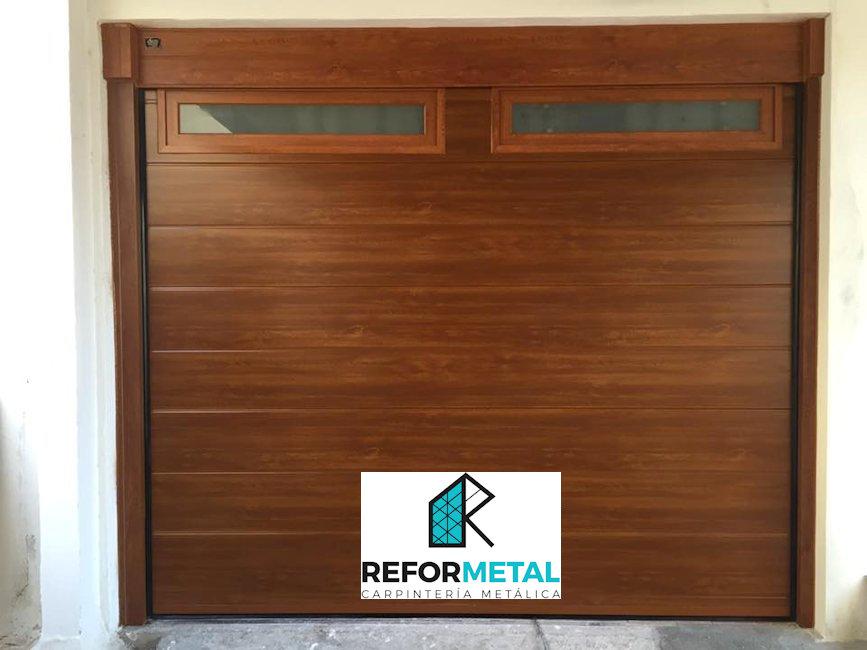 Puertas aluminio imitacion madera exterior amazing best for Ventanas de aluminio imitacion madera